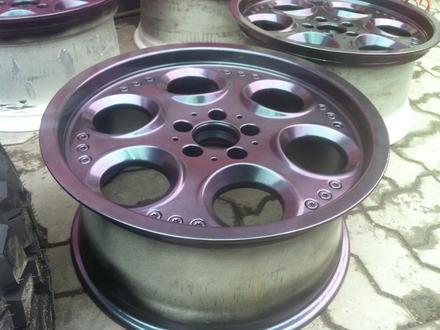 Реставрация авто дисков в Алматы – фото 76