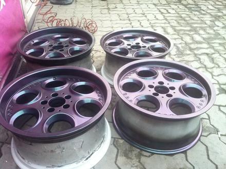 Реставрация авто дисков в Алматы – фото 77