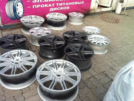 Реставрация авто дисков в Алматы – фото 84