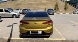 Hyundai Elantra 2019 года за 9 000 000 тг. в Нур-Султан (Астана) – фото 4