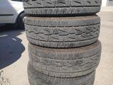 Бу комплект шин на Прадо Паджеро за 200 000 тг. в Алматы – фото 3