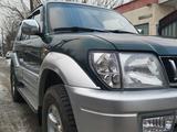 Toyota Land Cruiser Prado 1997 года за 6 700 000 тг. в Тараз – фото 3