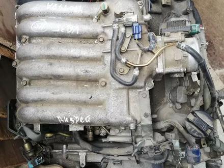 Двигатель Ниссан Патфайндер r50 3, 5 VQ35 за 360 000 тг. в Алматы – фото 2
