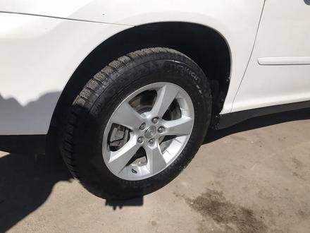 Комплект дисков с резиной Lexus rx330/350. Nokian Hakkapeliitta 7. за 150 000 тг. в Нур-Султан (Астана) – фото 4