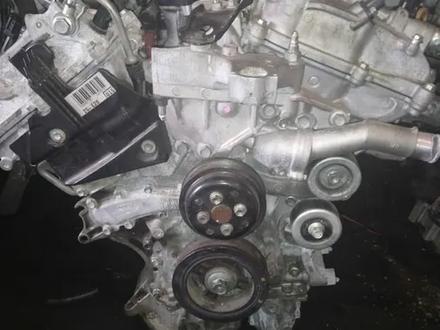 Мотор 2GR двигатель TOYOTA HIGLANDER 3.5л за 490 000 тг. в Караганда – фото 2