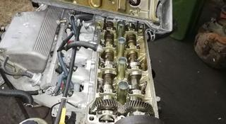 Двигатель тойота Карина Е. 7А за 555 тг. в Алматы
