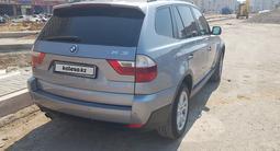 BMW X3 2007 года за 4 000 000 тг. в Нур-Султан (Астана) – фото 3