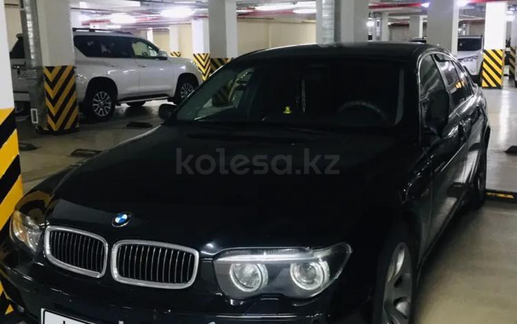 BMW 745 2001 года за 2 450 000 тг. в Алматы