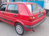 Volkswagen Golf 1989 года за 1 100 000 тг. в Тараз – фото 4