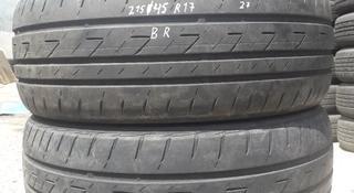 Резина 2 колеса 215/45 r17 Bridgestone из Японии за 27 000 тг. в Алматы