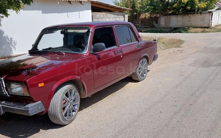ВАЗ (Lada) 2107 2012 года за 1 000 000 тг. в Темирлановка