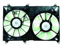 Диффузор радиатора двойной в сборе Toyota Harrier 97-07 за 33 850 тг. в Алматы