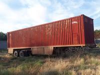 Полуприцеп Одаз — контейнер в Шымкент