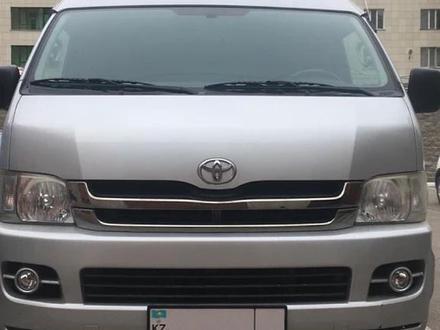 Toyota HiAce 2009 года за 9 000 000 тг. в Нур-Султан (Астана) – фото 2