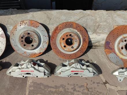 Суппорта и диски комплект на Мерседес за 500 000 тг. в Алматы – фото 8