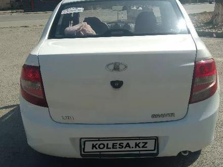 ВАЗ (Lada) Granta 2190 (седан) 2014 года за 1 850 000 тг. в Туркестан – фото 2