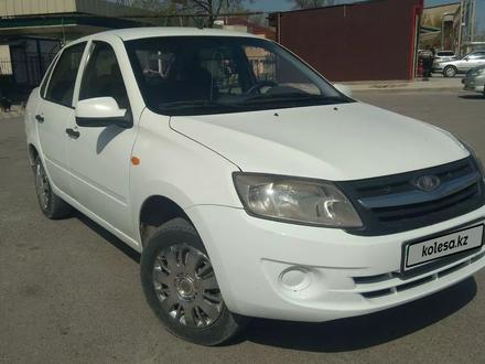 ВАЗ (Lada) Granta 2190 (седан) 2014 года за 1 850 000 тг. в Туркестан – фото 4