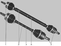 Привод гранаты левый-правый в сборе(АКПП) (with ABS) за 40 000 тг. в Нур-Султан (Астана)