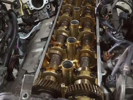 Двигатель акпп 1g-fe Привозной Япония за 17 500 тг. в Караганда – фото 2