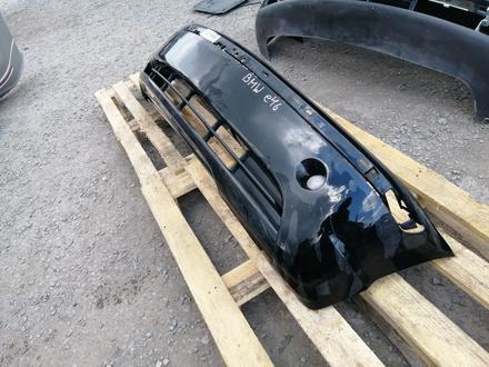 Бампер (передний) на BMW e46 за 30 000 тг. в Караганда – фото 4