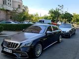 Мерседес S class w222, выписка с роддома, встреча с аэропорта в Алматы – фото 3