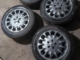 Оригинальные диски mercedes с резиной 215/55/16 за 140 000 тг. в Караганда – фото 3