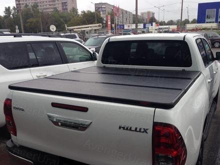 Крышка трехсекционная на Toyota Hilux тент тойота за 310 000 тг. в Нур-Султан (Астана)