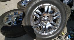 Диски с резиной R18 Ford Explorer 4 за 250 000 тг. в Алматы – фото 2