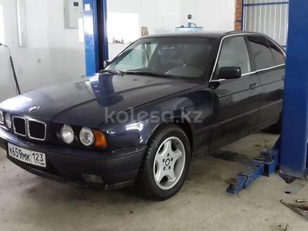 BMW 525 1993 года за 55 688 тг. в Алматы – фото 2