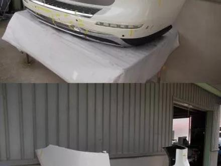 Передний задний бампер AMG на мерседес w166-ML пороги за 10 101 тг. в Алматы – фото 6