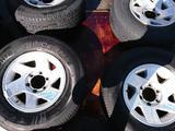 Комплект колес с дисками на Митсубиси Монтеро Спорт за 155 000 тг. в Алматы
