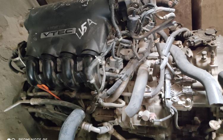 Двигатель honda fit L15A за 150 000 тг. в Алматы