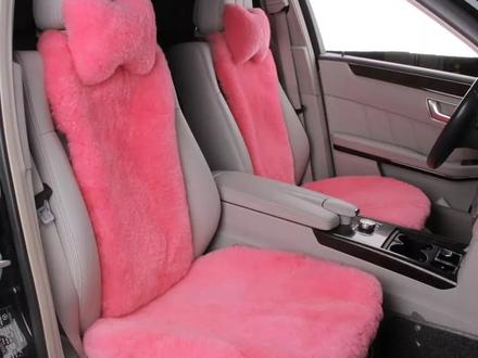 Меховые накидки для сидения авто за 20 000 тг. в Актау – фото 7