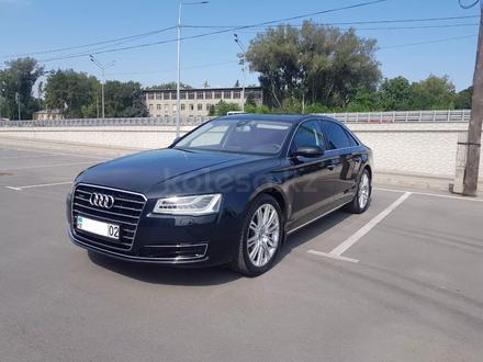 Audi A8 2014 года за 17 700 000 тг. в Алматы – фото 9