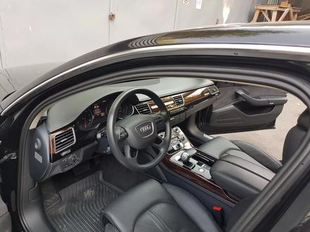 Audi A8 2014 года за 17 700 000 тг. в Алматы – фото 10