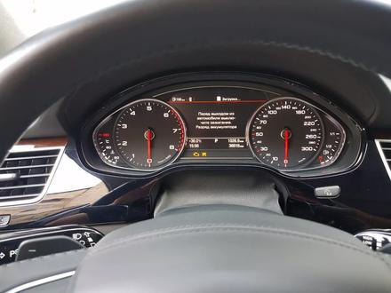 Audi A8 2014 года за 17 700 000 тг. в Алматы – фото 11