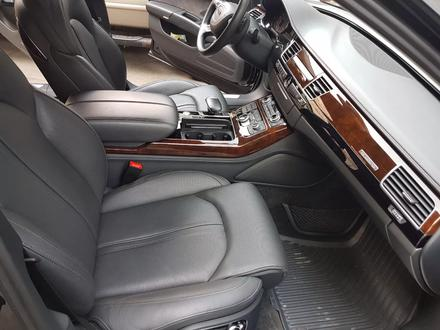 Audi A8 2014 года за 17 700 000 тг. в Алматы – фото 16
