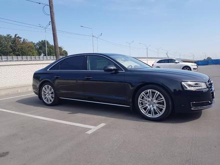 Audi A8 2014 года за 17 700 000 тг. в Алматы – фото 3