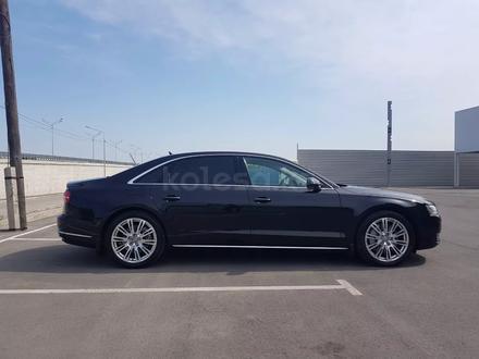 Audi A8 2014 года за 17 700 000 тг. в Алматы – фото 4