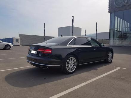 Audi A8 2014 года за 17 700 000 тг. в Алматы – фото 5