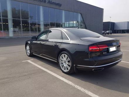 Audi A8 2014 года за 17 700 000 тг. в Алматы – фото 7