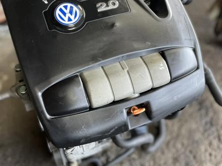 Привозной двигатель на Volkswagen golf 4 AZJ объем 2.0 за 220 000 тг. в Нур-Султан (Астана) – фото 2