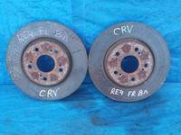 Диски тормозные передние на HONDA CRV-3 (2008 год) V2.4 оригинал… за 22 000 тг. в Караганда