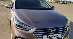 Hyundai Solaris 2018 года за 4 700 000 тг. в Уральск