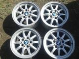 Оригинальные легкосплавные диски 27 стиль на BMW 3 (Германия R15 5 за 70 000 тг. в Нур-Султан (Астана)