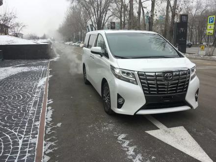 Toyota Alphard 2017 года за 32 900 000 тг. в Алматы – фото 9