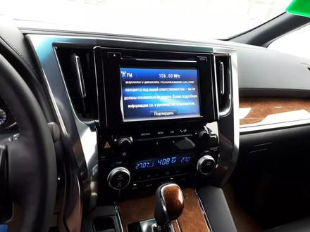 Toyota Alphard 2017 года за 32 900 000 тг. в Алматы – фото 79