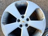 Оригинальные диски Chevrolet Cruze made in Korea за 100 000 тг. в Нур-Султан (Астана) – фото 2
