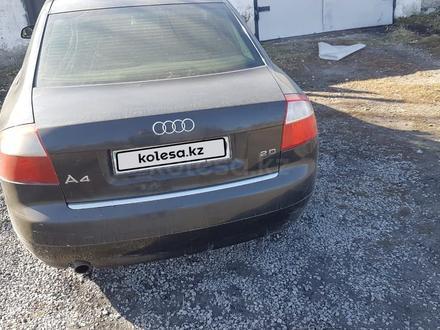 Audi A4 2001 года за 2 500 000 тг. в Караганда – фото 3