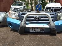 Кенгурятник, губа Toyota Highlander 2000-2007 за 50 000 тг. в Алматы